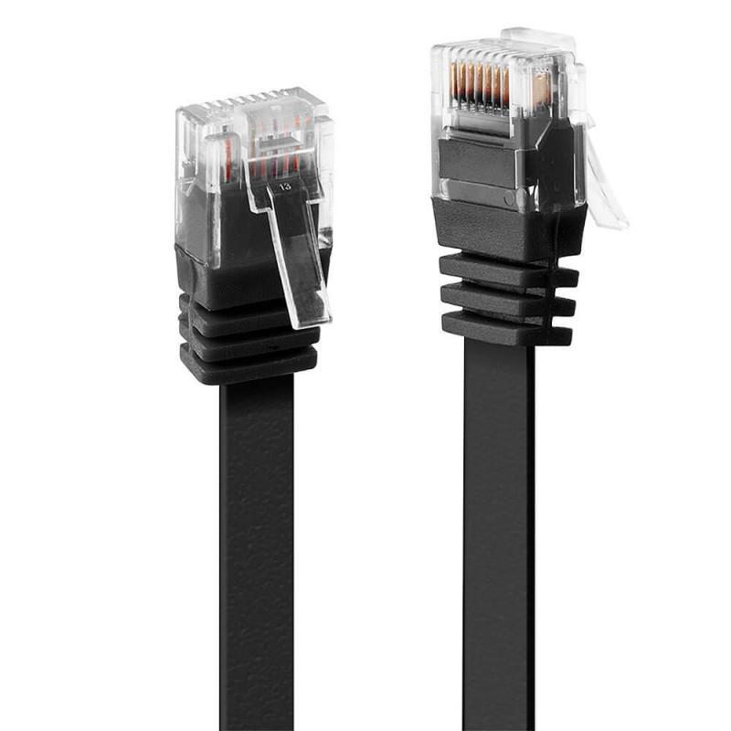 Cablu Retea 3m CAT5E 24AWG ISO/IEC 11801, Negru