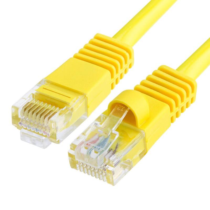 Cablu Retea 3m CAT6U/UTP, Galben