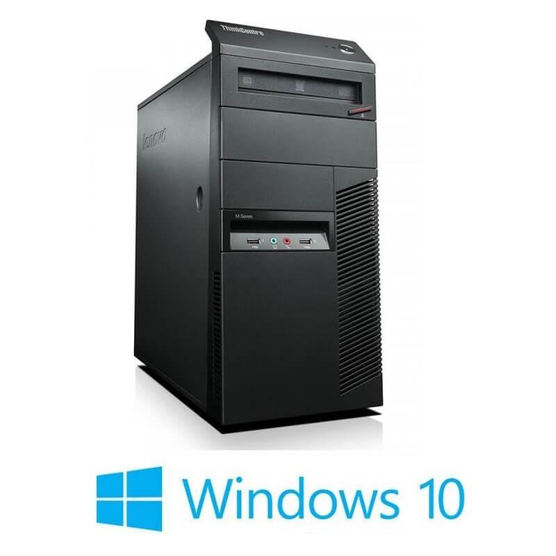 Calculatoare Refurbished ThinkCentre M91p, Quad Core i5-2400, Win 10 Home