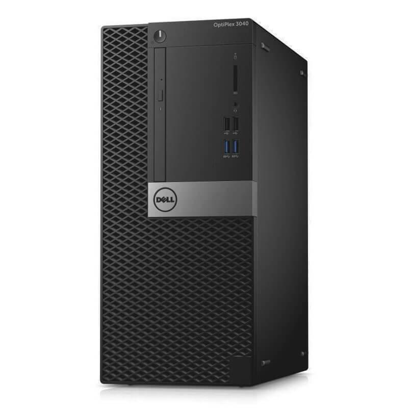 Calculatoare second hand Dell OptiPlex 3040 MT, Intel Quad Core i7-6700T, 240GB SSD NOU