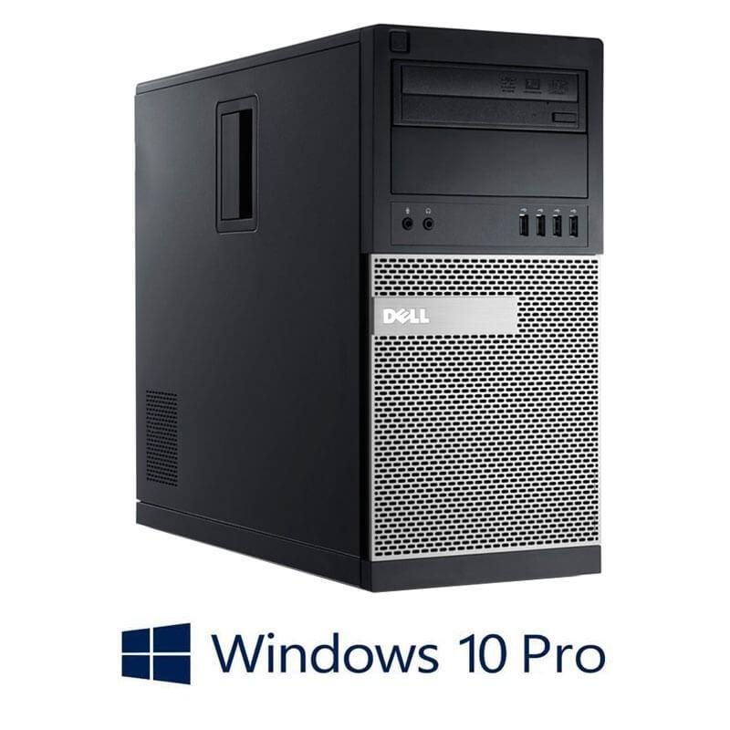 Calculator Dell OptiPlex 790 MT, Quad Core i7-2600, 240GB SSD NOU, Win 10 Pro