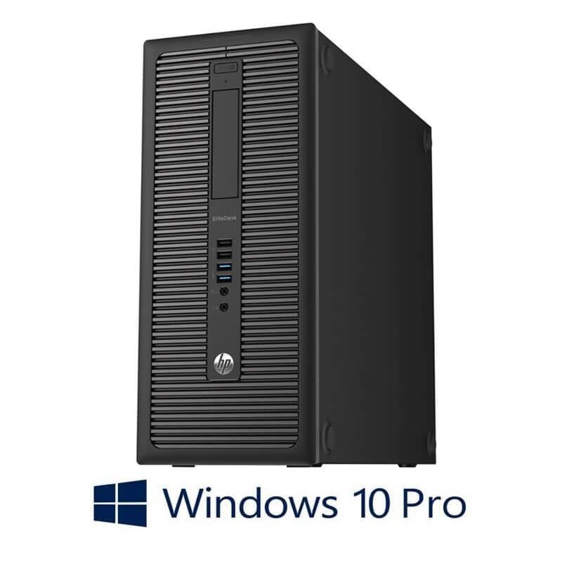 Calculator HP EliteDesk 800 G1 MT, Quad Core i5-4570, 120GB SSD NOU, Win 10 Pro