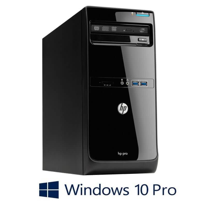 Calculator HP Pro 3500 MT, Core i3-3240, Win 10 Pro