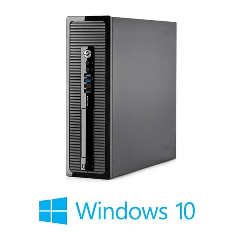 Calculator HP ProDesk 400 G1 SFF, Intel i3-4130, 240GB SSD NOU, Win 10 Home