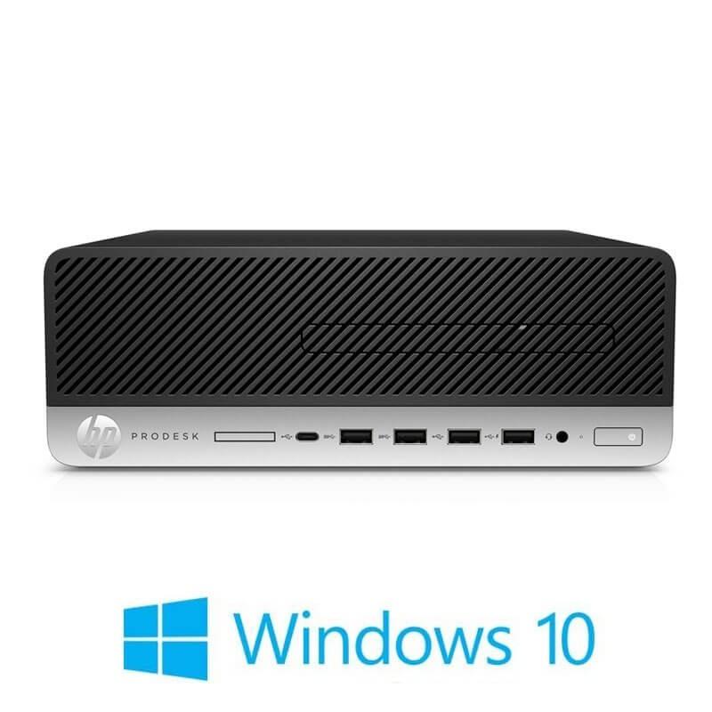 Calculator HP ProDesk 600 G4 SFF, Hexa Core i5-8500T, 120GB SSD NOU, Win 10 Home