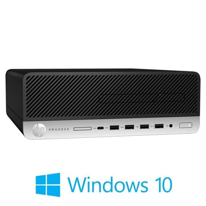 Calculator HP ProDesk 600 G5 SFF, Quad Core i3-9100, 512GB SSD M.2, Win 10 Home