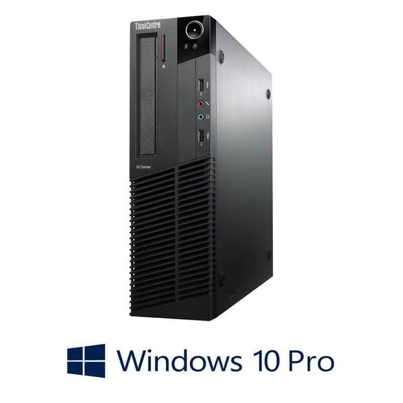 Calculator Lenovo ThinkCentre M78 SFF, AMD A4-5300B, Windows 10 Pro