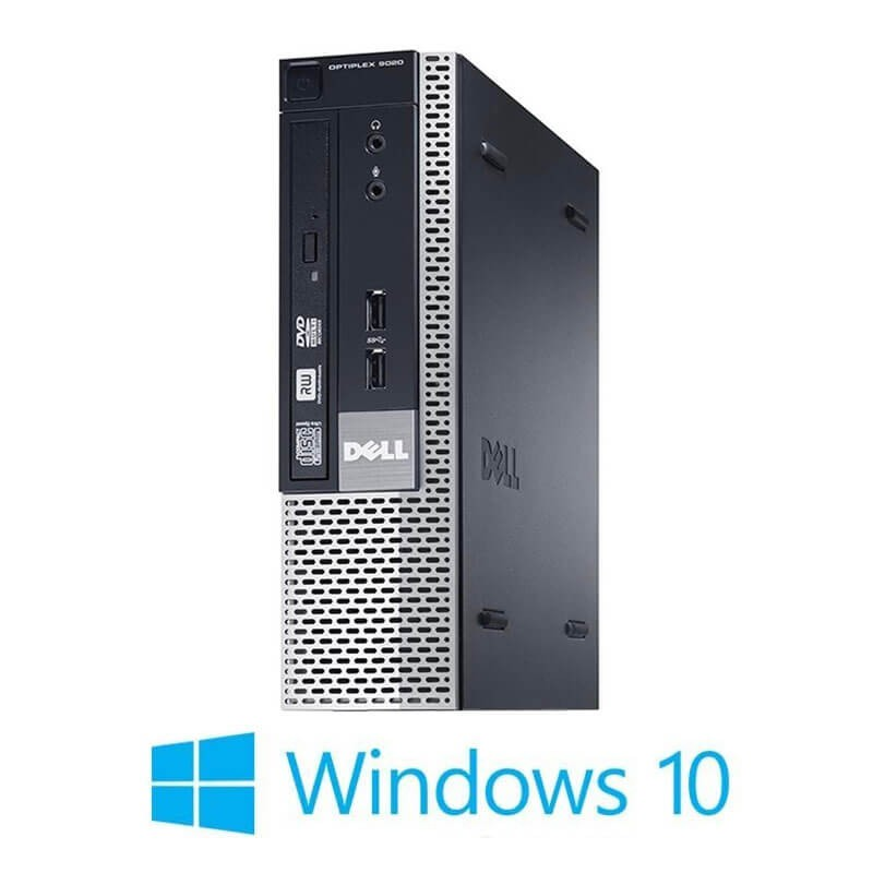 Calculator Refurbished Dell OptiPlex 9020 USFF, i5-4570S, Win 10 Home