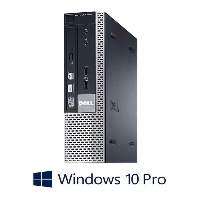 Calculator Refurbished Dell OptiPlex 9020 USFF, i5-4570S, Win 10 Pro