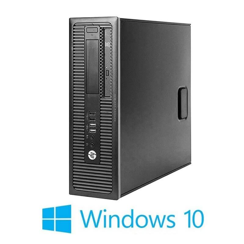 Calculator Refurbished HP Prodesk 600 G1 SFF, i7-4790K, 128GB SSD, Win 10 Home