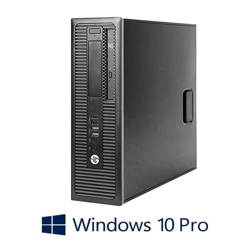 Calculator Refurbished HP Prodesk 600 G1 SFF, i7-4790K, 128GB SSD, Win 10 Pro
