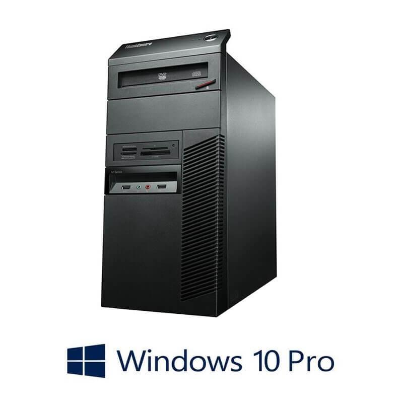 Calculator Refurbished Lenovo ThinkCentre M90P, Intel Core i5-650, Win 10 Pro