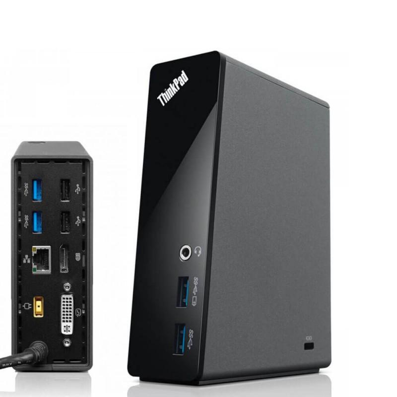 Docking Station Lenovo ThinkPad OneLink Pro Dock DU9033S1, DisplayPort, DVI