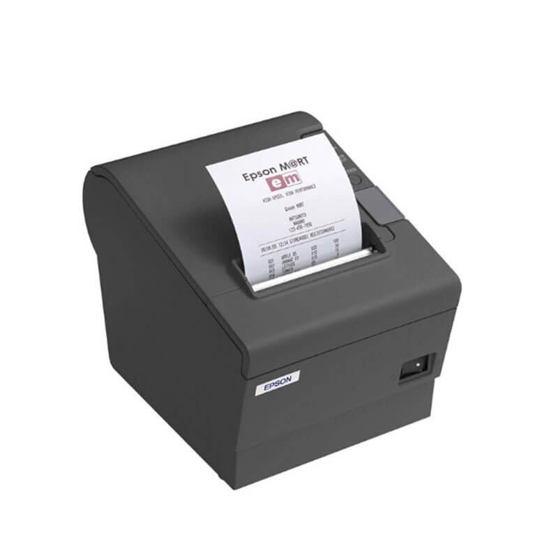 Imprimanta termice Epson TM-T88V negre interfata USB si serial