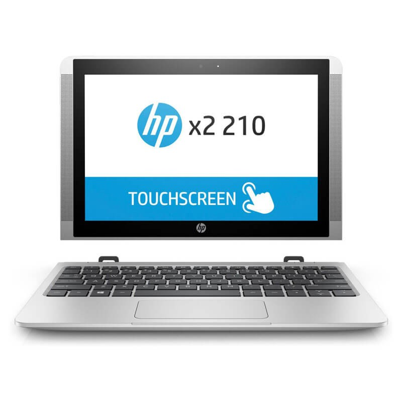Laptop 2 in 1 Touchscreen second hand HP x2 210 G2, Quad Core x5-Z8350, 10.1 inch