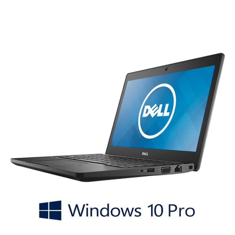 Laptop Dell Latitude 5280, Intel i5-7300U, 8GB DDR4, 12.5 inci, Webcam, Win 10 Pro