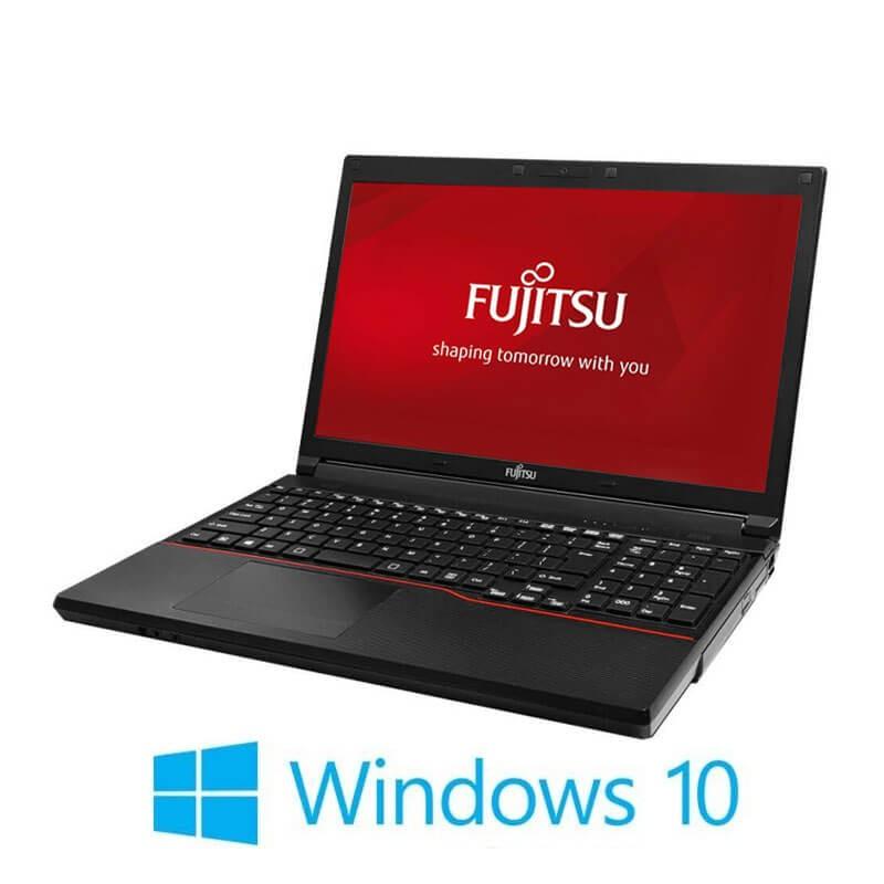 Laptop Fujitsu LIFEBOOK A574/K, i3-4000M, 120GB SSD NOU, Webcam, Win 10 Home