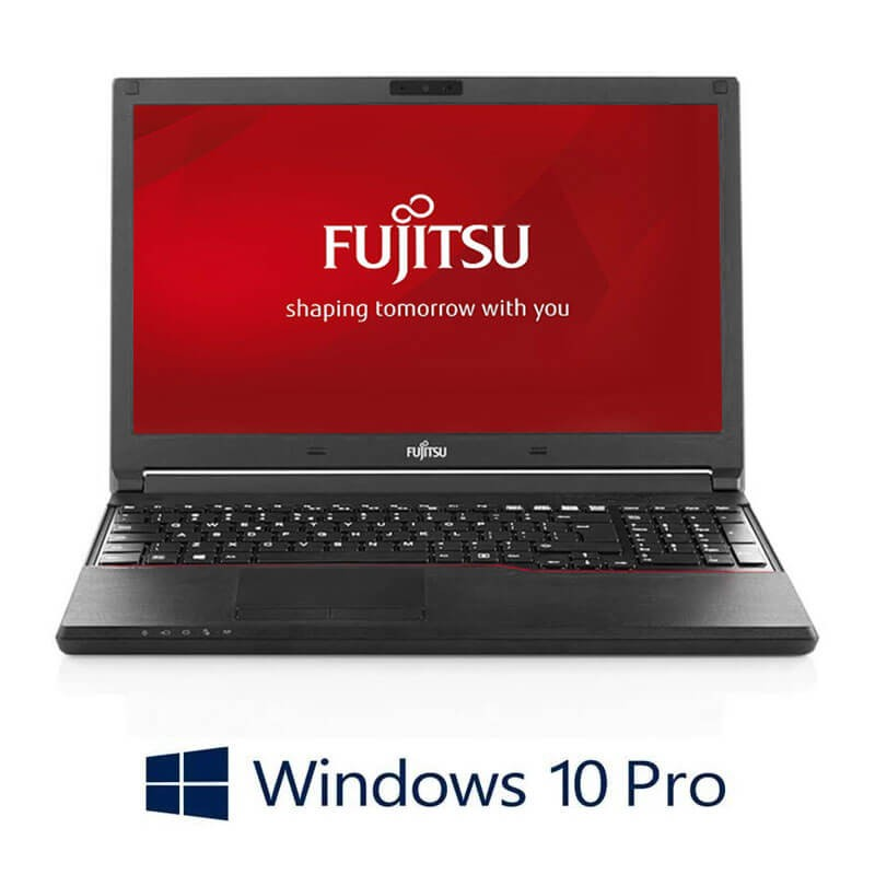 Laptop Fujitsu LIFEBOOK A574/K, Intel i3-4000M, 240GB SSD, Webcam, Win 10 Pro