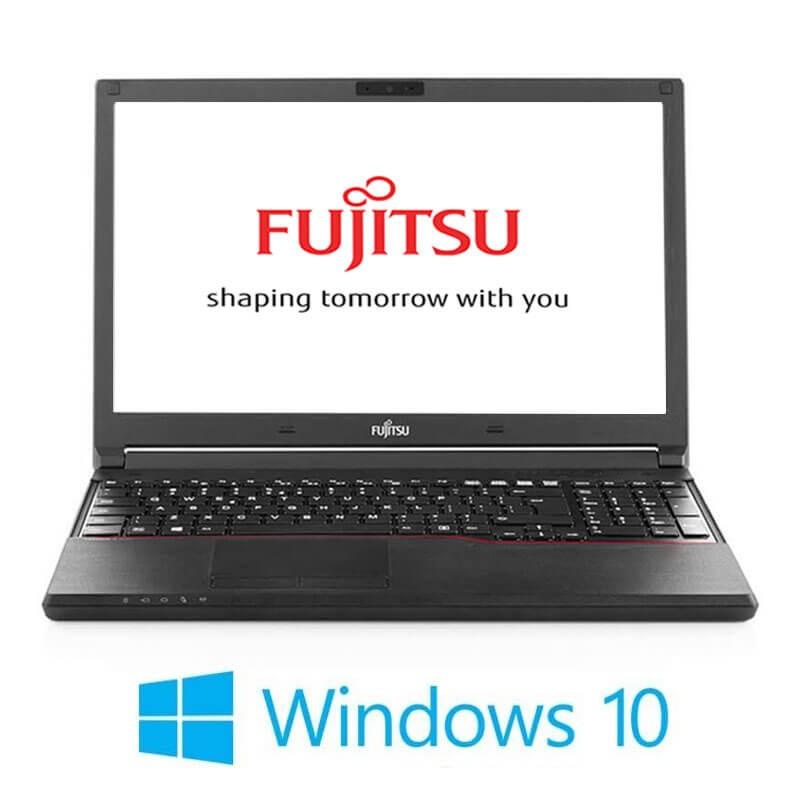 Laptop Fujitsu LIFEBOOK A744/K, Intel i3-4000M, 15.6 inci, Webcam, Win 10 Home