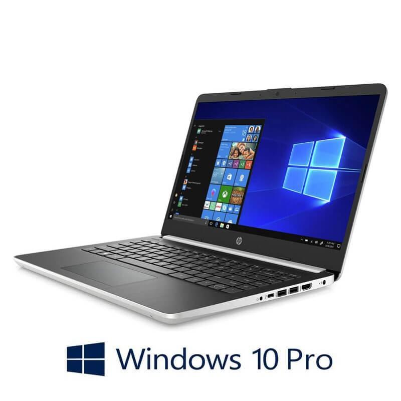 Laptop HP 14s-dq0100nd, Intel N4000, 4GB DDR4, Full HD IPS, Webcam, Win 10 Pro