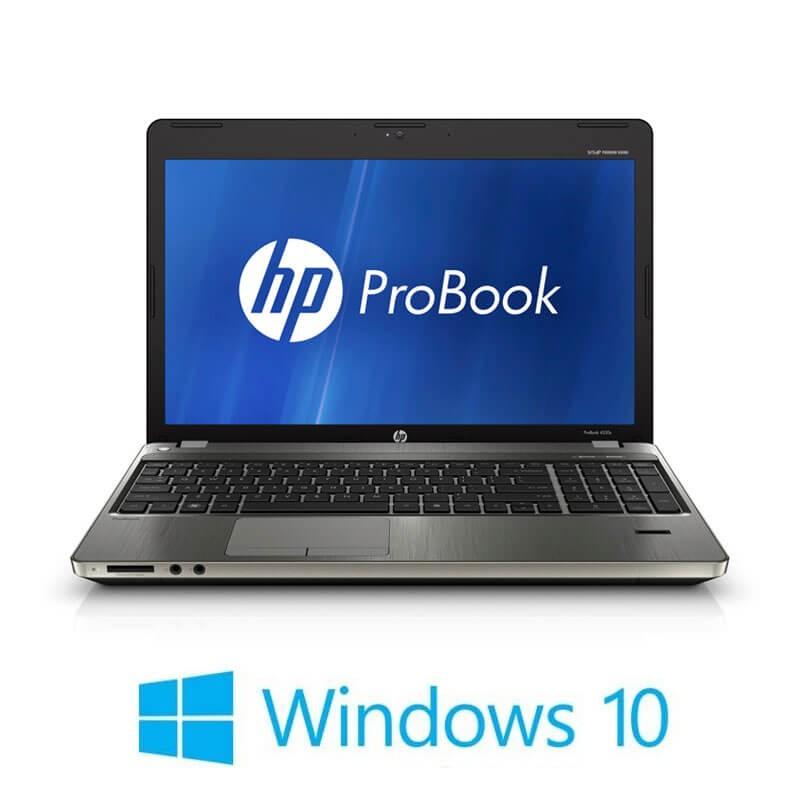 Laptop HP ProBook 4530s, i5-2410M, 120GB SSD, 15.6 inci, Webcam, Win 10 Home