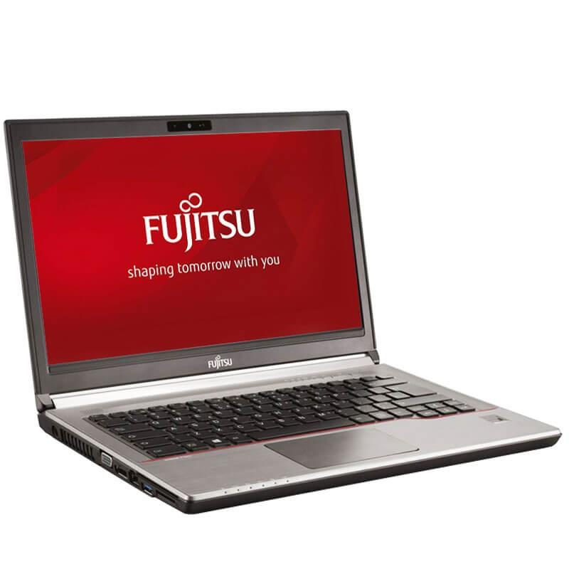 Laptop second hand Fujitsu LIFEBOOK E746, i5-6300U, 256GB SSD, 14 inci Full HD, Webcam