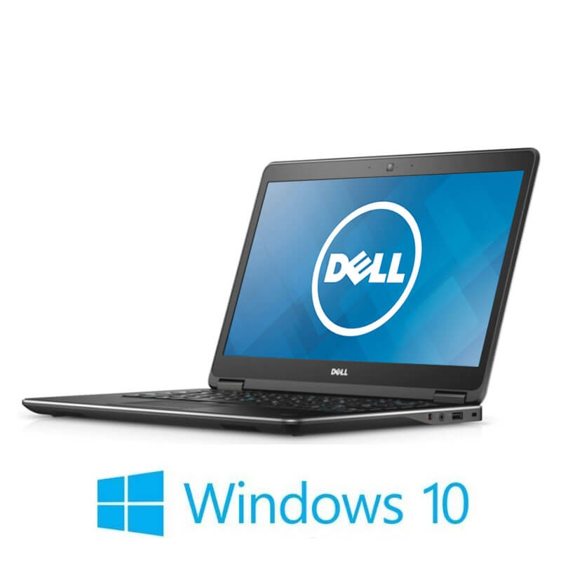 Laptopuri Dell Latitude E7440 , i7-4600U, 256GB SSD, Win 10 Home