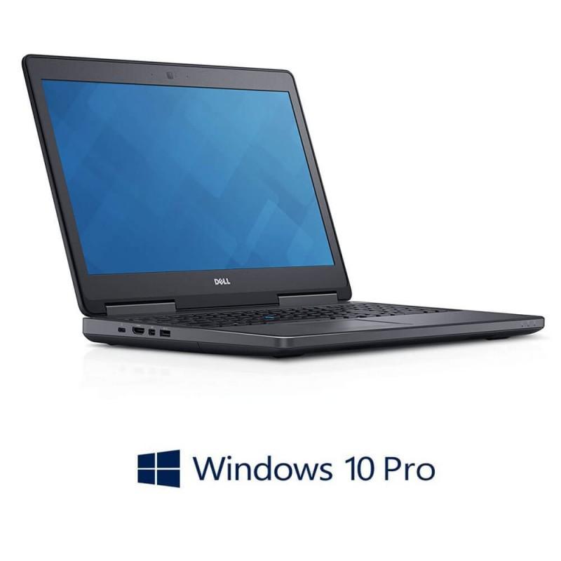 Laptopuri Dell Precision 7510, i7-6820HQ, 512GB SSD, Full HD, Quadro M1000M 2GB, Win 10 Pro