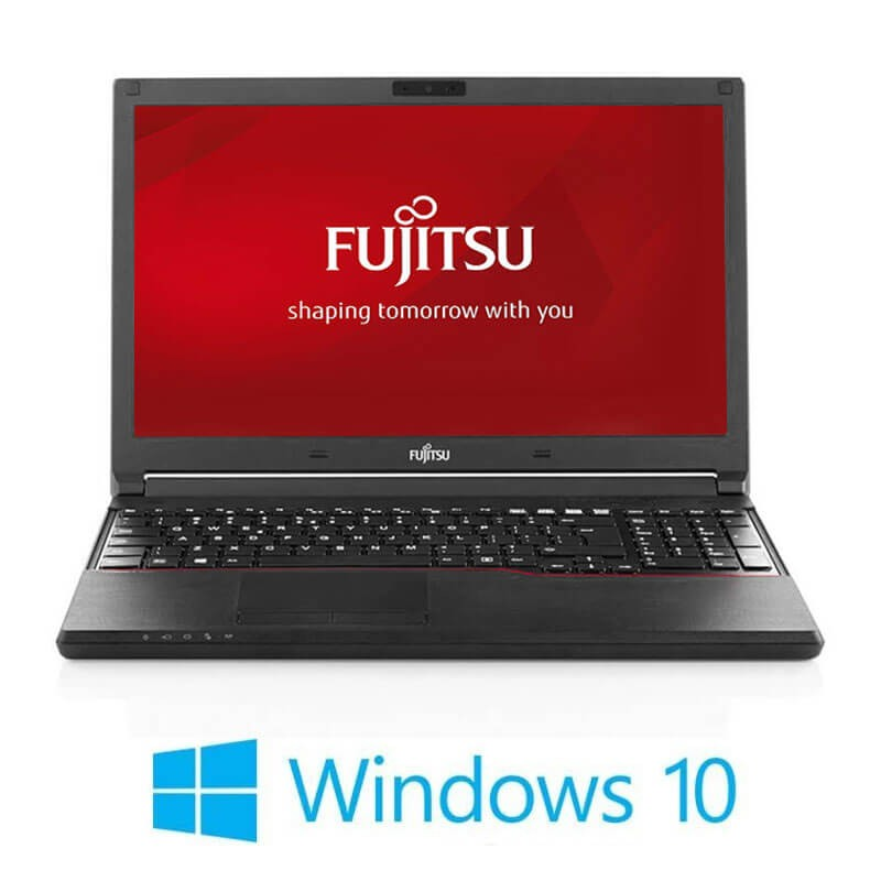 Laptopuri Fujitsu LIFEBOOK A574/K, i3-4000M, 240GB SSD, Full HD, Webcam, Win 10 Home