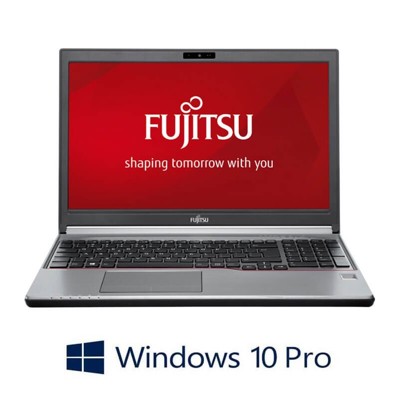 Laptopuri Fujitsu LIFEBOOK E736, i5-6200U, Win 10 Pro