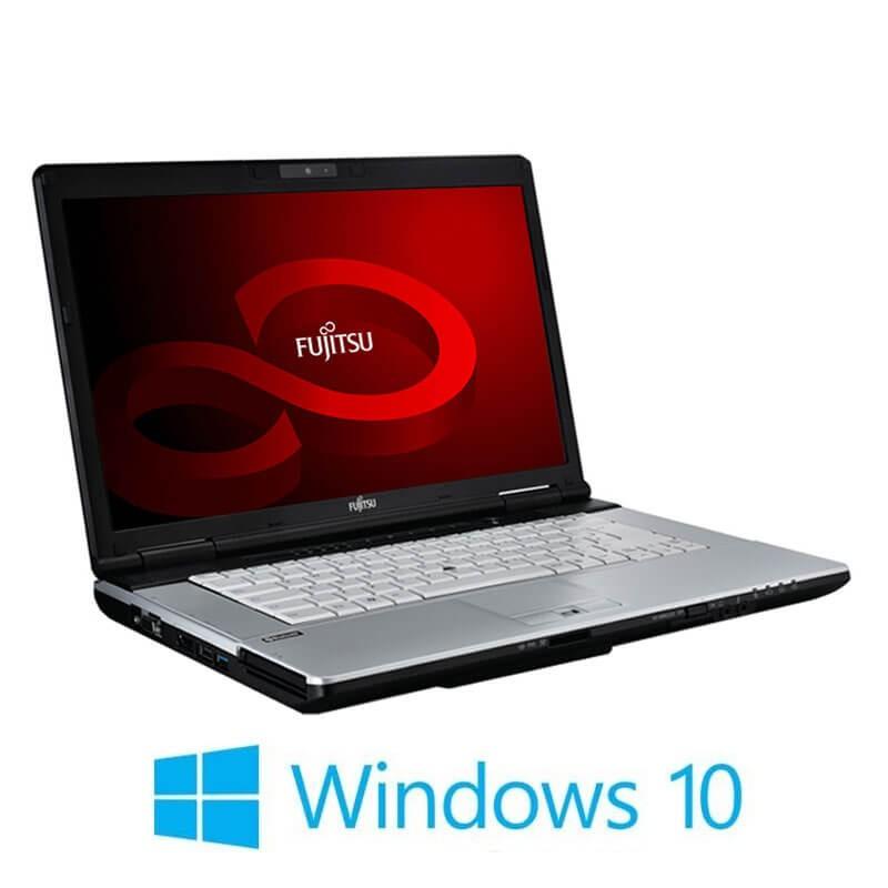 Laptopuri Fujitsu LIFEBOOK S751, i3-2350M, 8GB, 240GB SSD NOU, Webcam, Win 10 Home