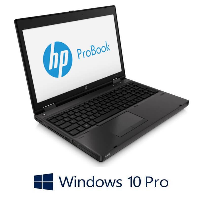 Laptopuri HP ProBook 6570b, i3-3120M, Win 10 Pro