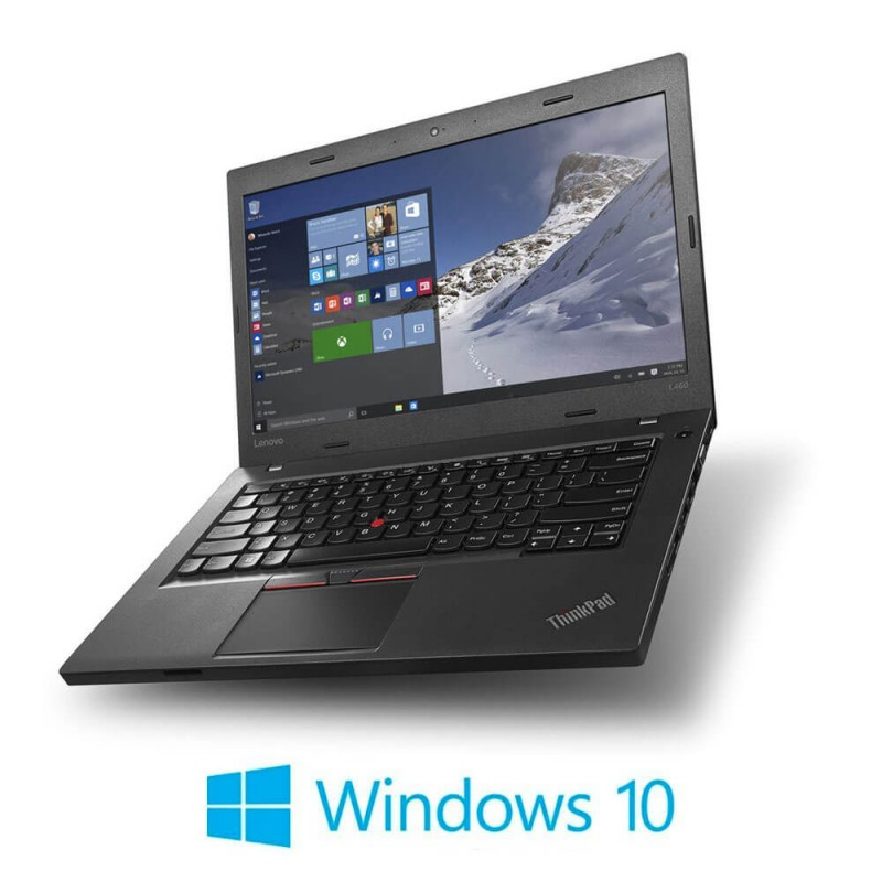Laptopuri Refurbished Lenovo ThinkPad L560, i5-6300U, SSD, Webcam, Windows 10 Home