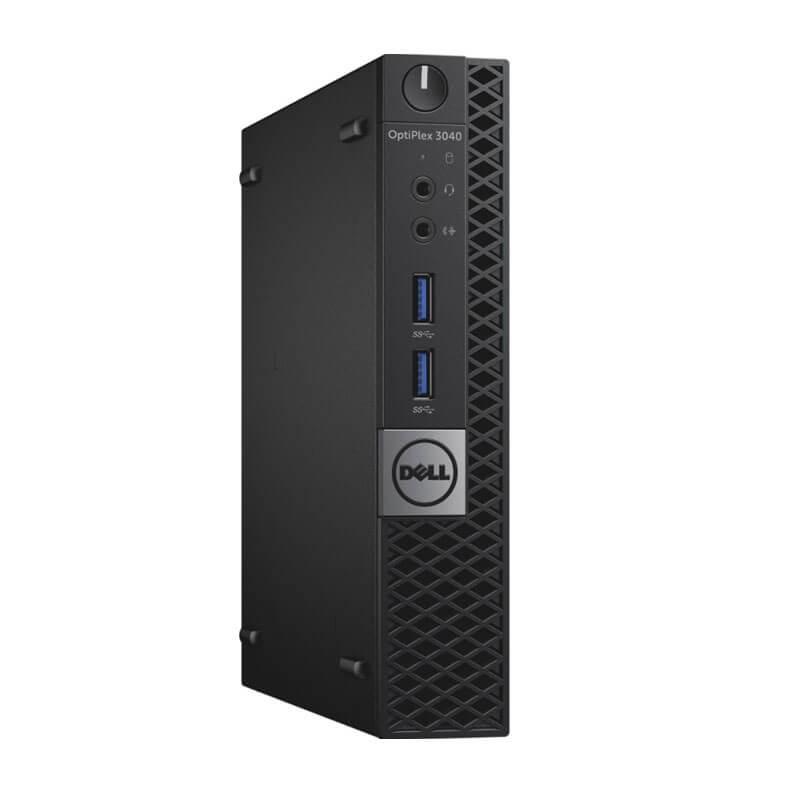 Mini Calculatoare second hand Dell OptiPlex 3040, Intel Quad Core i7-6700T, 120GB SSD NOU