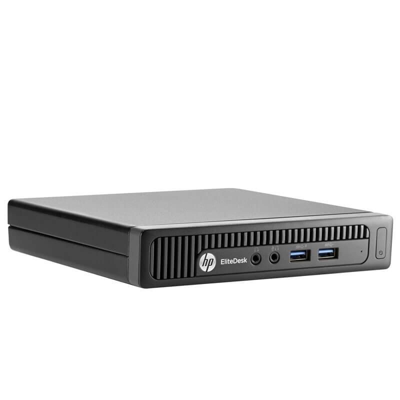 Mini Calculatoare second hand HP EliteDesk 800 G1, Intel Quad Core i5-4590T