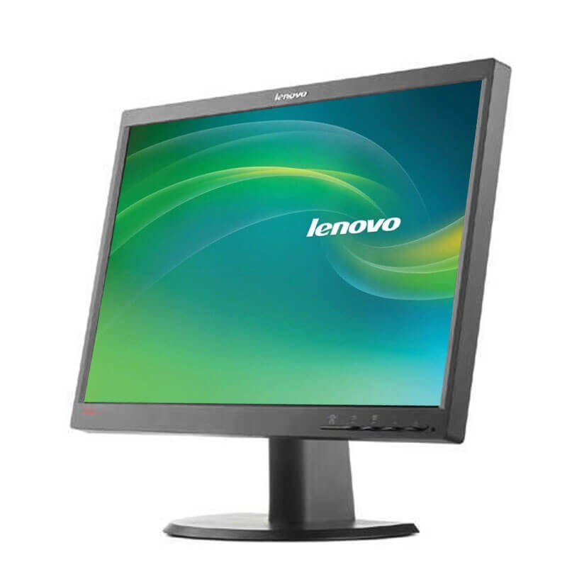 Monitor LCD Refurbished Lenovo ThinkVision L2240Pwd, 22 inch Widescreen