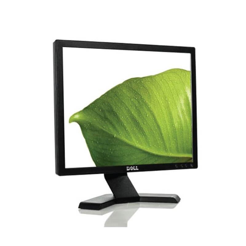 Monitor LCD second hand Dell E170Sb, Grad A-, 17 inci