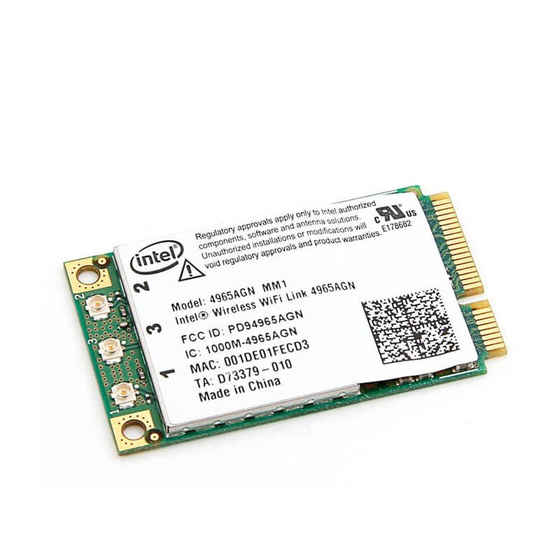 Placa Retea Wireless Intel Next-Gen PCIe Mini 4965AGN_MM2