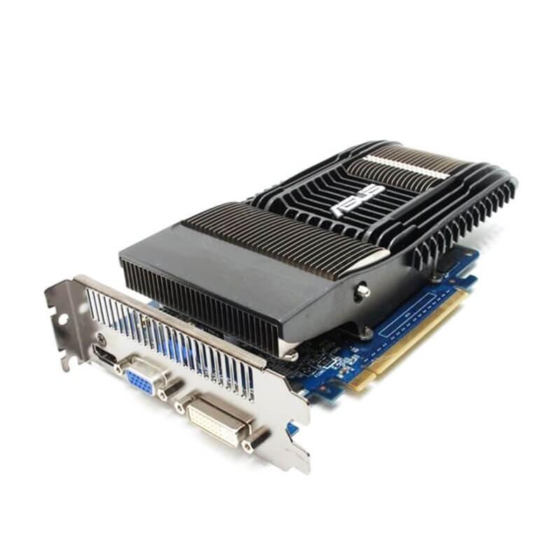 Placa video Refurbished Asus NVidia GeForce GT 240 Silent 1GB GDDR3 128-bit
