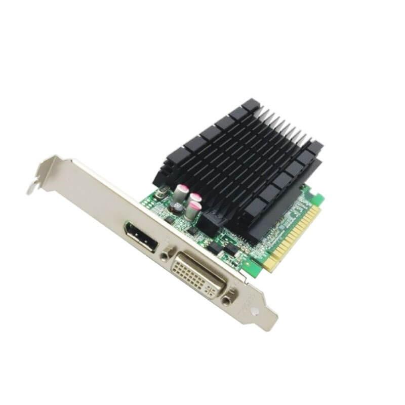 Placa video Refurbished NVIDIA GeForce 605 DP 1GB GDDR3 64-bit