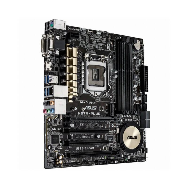 Placi de baza Asus H97M-PLUS Socket 1150 + Cooler