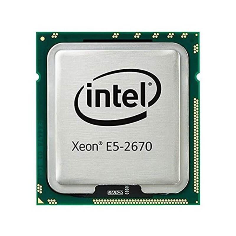 Procesoare Intel Xeon Octa Core E5-2670, 2.60GHz, 20Mb Cache