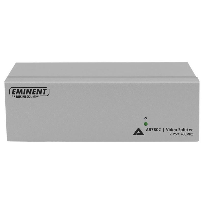 Splitter Video VGA, 2 x Iesire VGA, Eminent AB7802