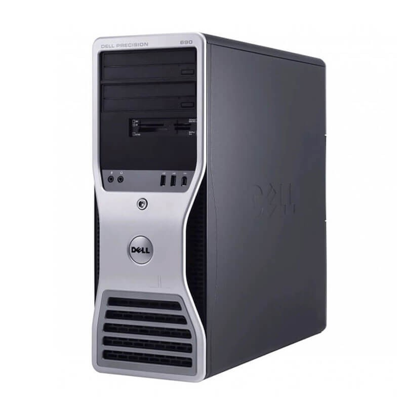 Statie grafica Dell Precision 690, 2 x Xeon 5150, 16GB, FX 3500