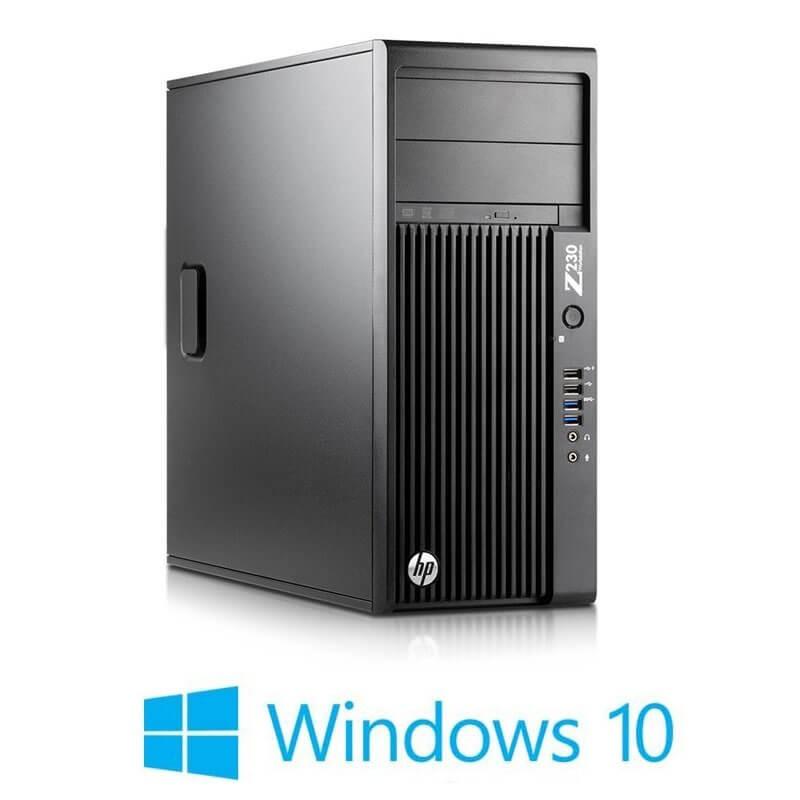 Statie grafica HP Z230 Tower, Quad Core i7-4770, Win 10 Home
