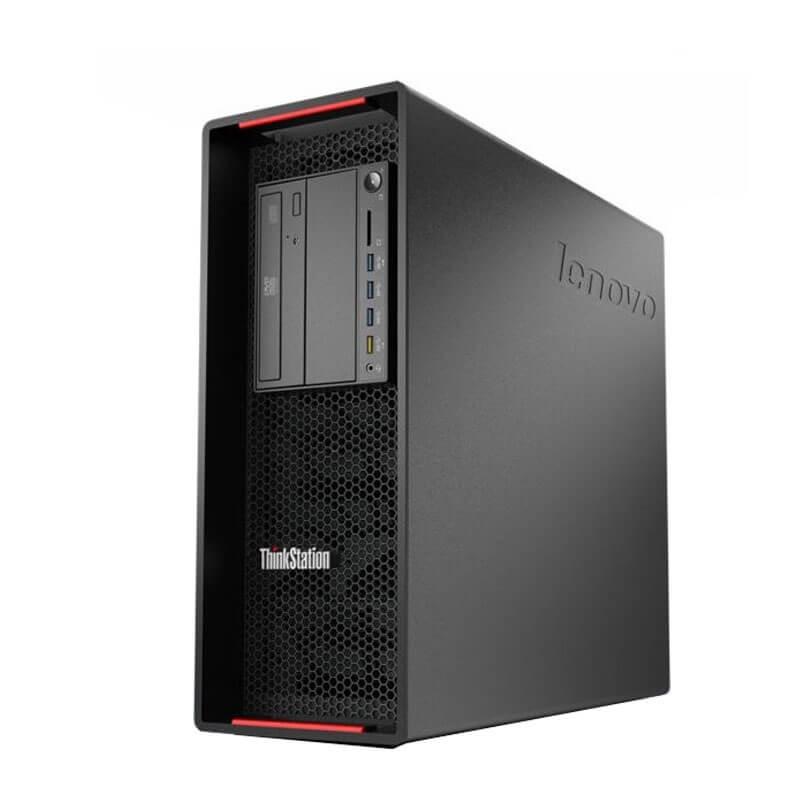Statie grafica second hand Lenovo ThinkStation P500, Xeon E5-1620 v3, 24GB DDR4, Quadro K2200