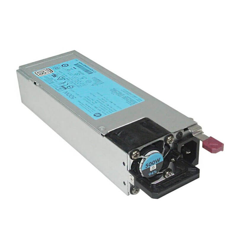 Surse Alimentare Servere HP ProLiant DL360/DL380 G9, 500W, 723594-001